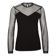 Comma t-shirts 81911313352 in het Zwart