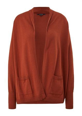 Comma vest 2106865 in het Camel