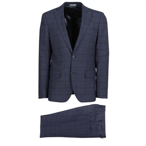 Common Sense kostuum 233010 in het Donker Blauw