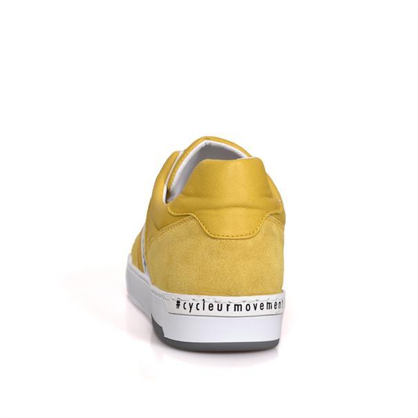 Cycleur de Luxe sneakers 211087 in het Geel