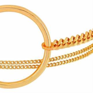 Dansk Smykkekunst accessoire 7c5354 in het Goud