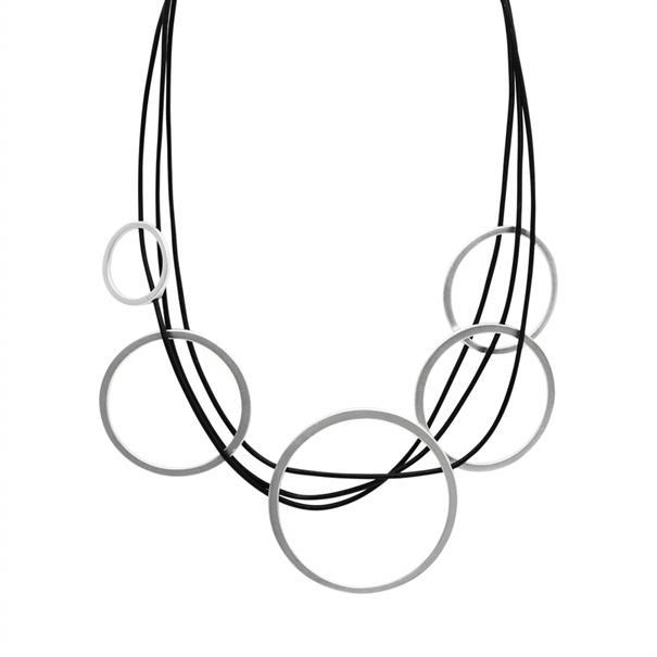 Dansk Smykkekunst accessoire 9c6335 in het Zilver