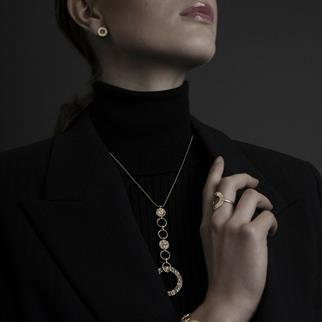 Dansk Smykkekunst accessoire 9c6578 in het Zilver