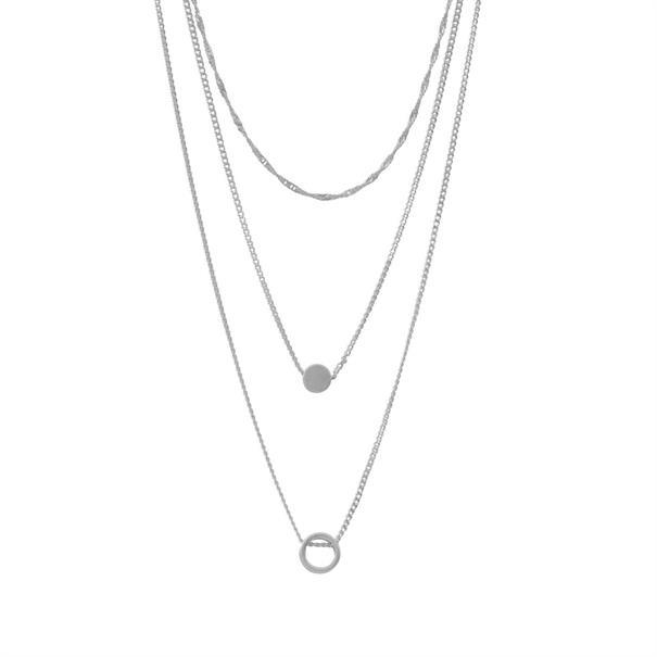 Dansk Smykkekunst accessoire 9c6629 in het Zilver