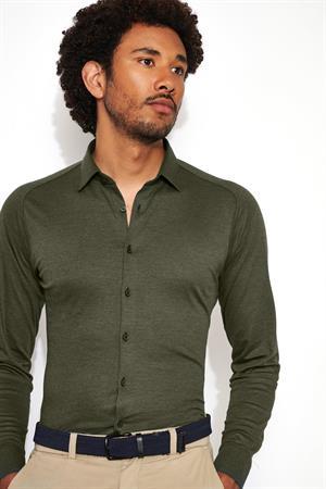 Desoto casual overhemd 97028-3 in het Groen