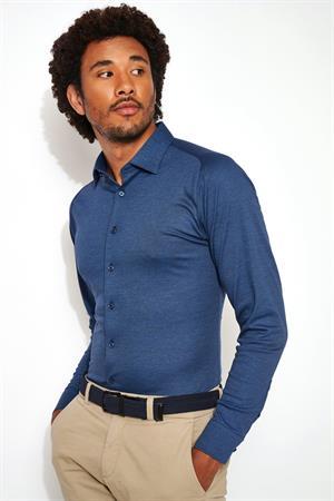 Desoto casual overhemd 97028-3 in het Indigo