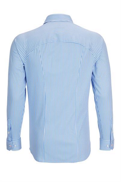 Desoto casual overhemd Slim Fit 21108-3 in het Blauw