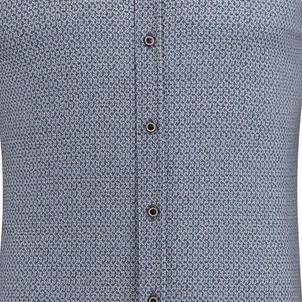 Desoto casual overhemd Slim Fit 80113-3 in het Khaky