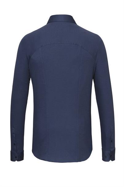 Desoto jersey overhemd Slim Fit 97507-3 in het Hemels Blauw