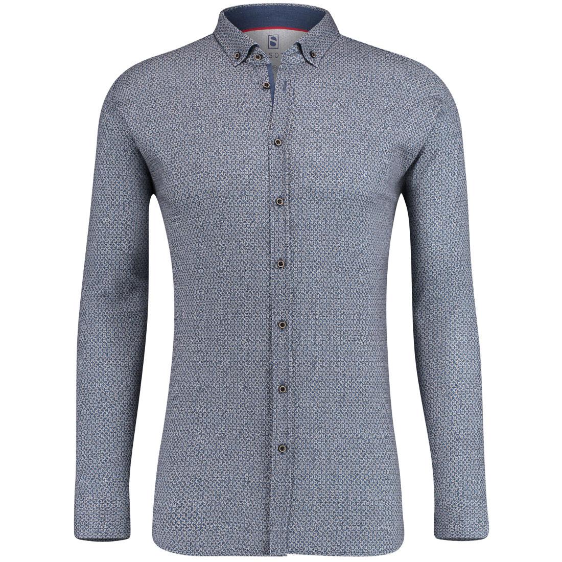 Desoto overhemd 80113-3 in het Khaky