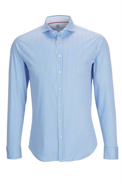 Desoto overhemd Slim Fit 21108-3 in het Blauw
