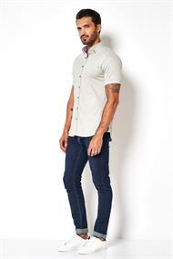 Desoto overhemd Slim Fit 33531-3 in het Groen