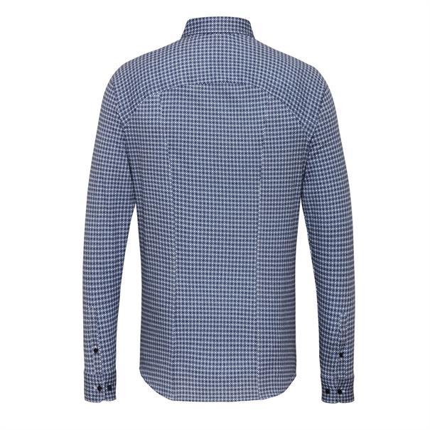 Desoto overhemd Slim Fit 97213-3 in het Blauw