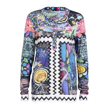 Dividere t-shirts 0220divlabelle in het Multicolor