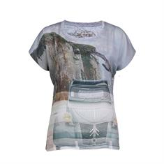 Dividere t-shirts 0320divetretat in het Licht Grijs