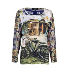 Dividere t-shirts 0402fiets in het Multicolor