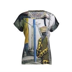 Dividere t-shirts 0420div-arusha in het Geel