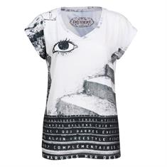 Dividere t-shirts 0420div-coimbra in het Zwart / Wit
