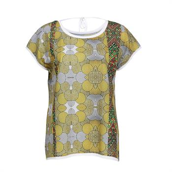 Dividere t-shirts 0420div-tanzania in het Geel