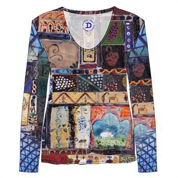 Dividere t-shirts 0820div-Tibilisi in het Multicolor