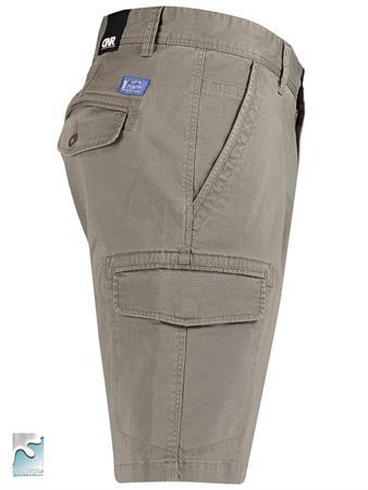 Donar shorts 76850-1413.1 in het Olijf groen