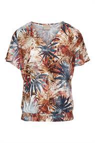 Dreamstar blouse 203feyza in het Licht Bruin