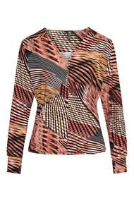 Dreamstar blouse jeanny in het Brique