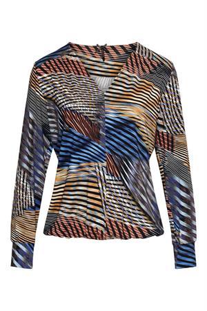 Dreamstar blouse jeanny in het Kobalt