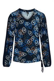 Dreamstar blouse maze in het Kobalt