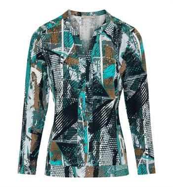 Dreamstar t-shirts 219berla in het Groen