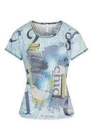Dreamstar t-shirts 264miranda in het Licht Blauw