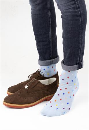 Effio sokken Laurium-2119 in het Licht Blauw