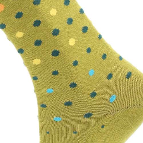 Effio sokken Sparkling dots 10 in het Geel