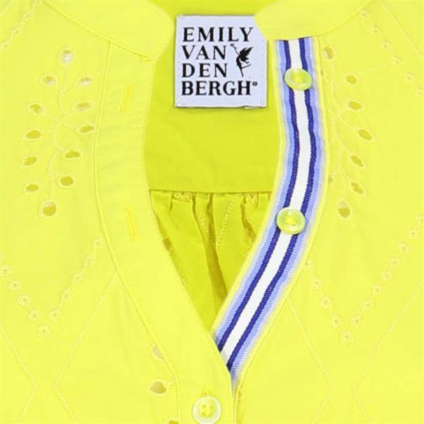Emily van den Bergh blouse 6847-138651 in het Geel