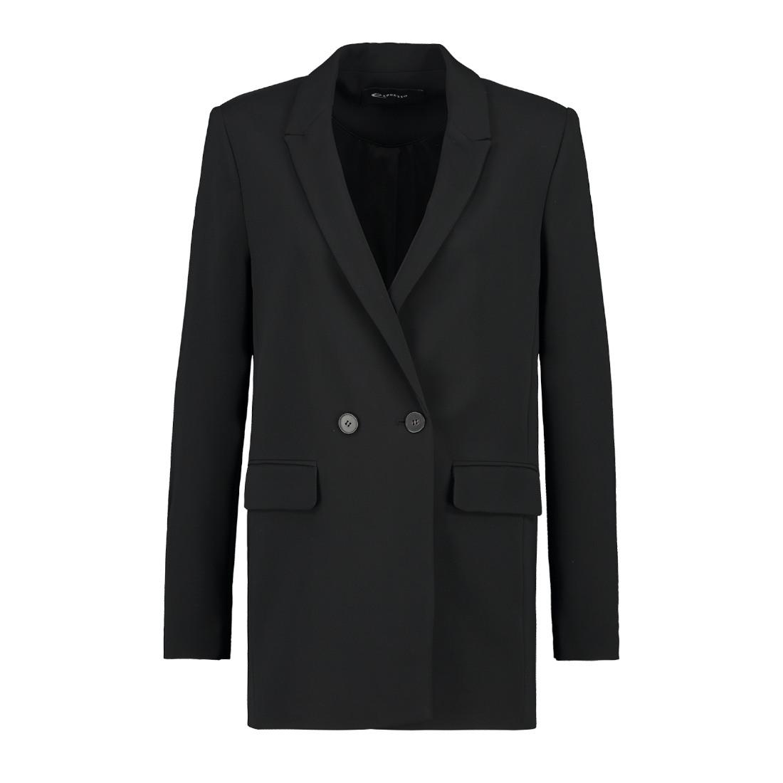 Smit Mode:  Expresso blazer 193klara in het Zwart