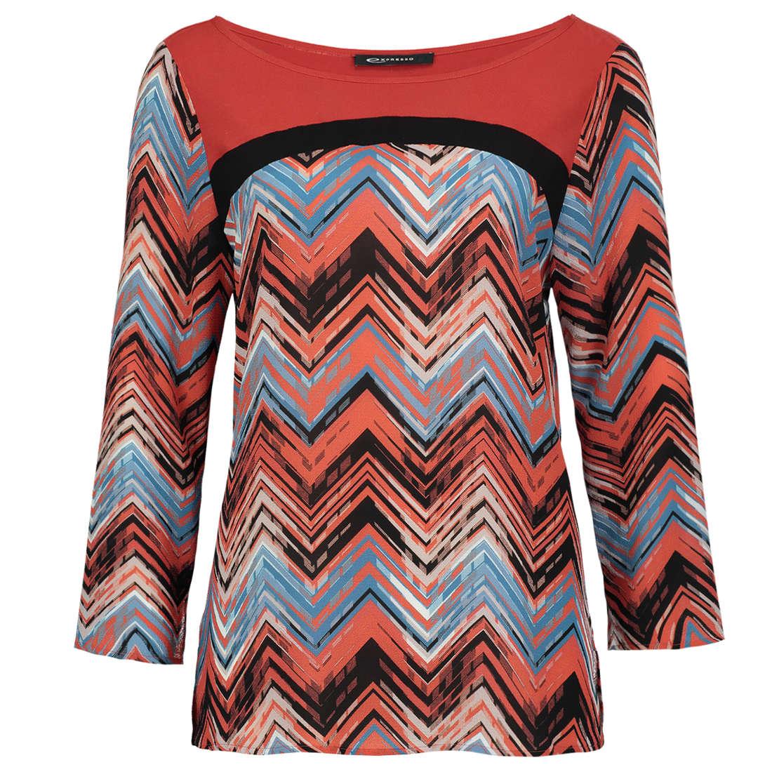 Smit Mode:  Expresso blouse 174michelle in het Multicolor