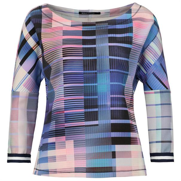 Expresso blouse 181camille in het Multicolor
