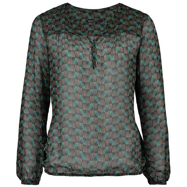 Expresso blouse 191britney in het Groen