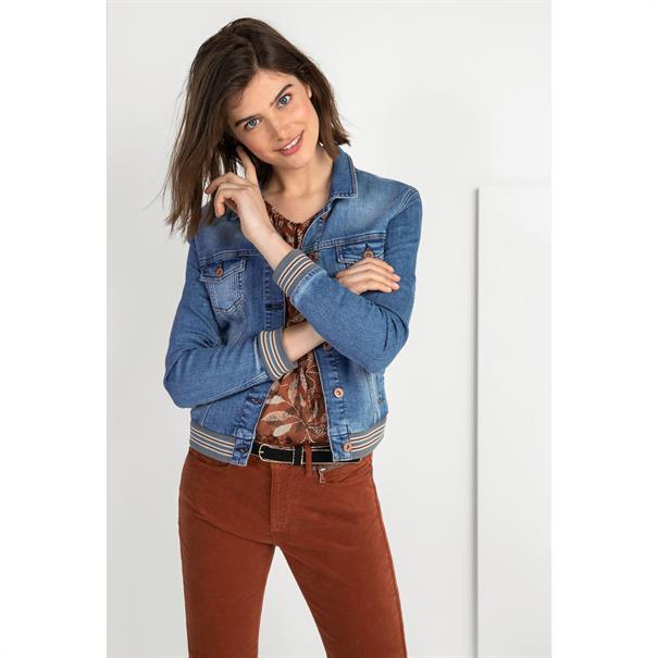 Expresso blouse 193jolie in het Roest