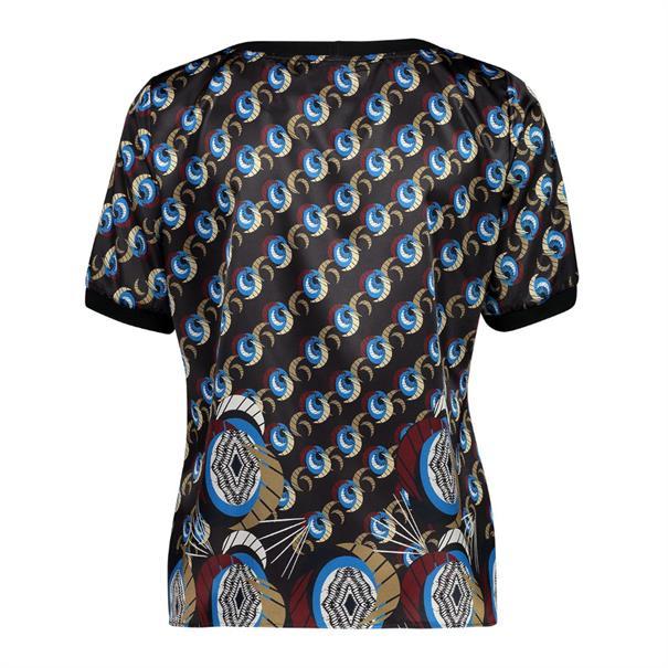 Expresso blouse 193kleo in het Multicolor