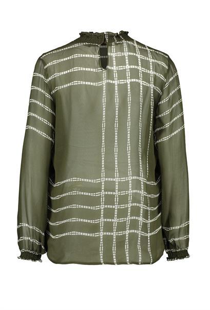 Expresso blouse 193lucy in het Groen