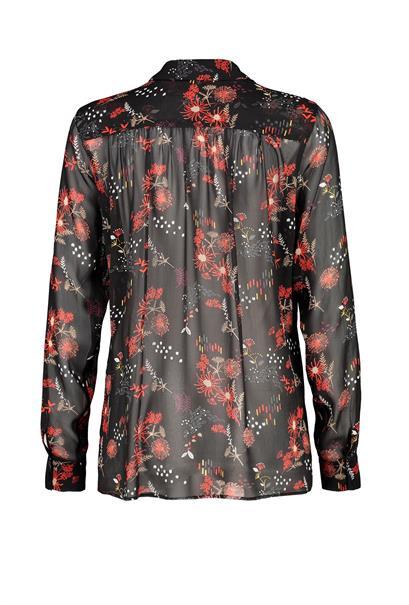 Expresso blouse 194melanie in het Zwart