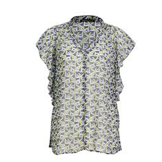 Expresso blouse 202ellemijn in het Licht Blauw
