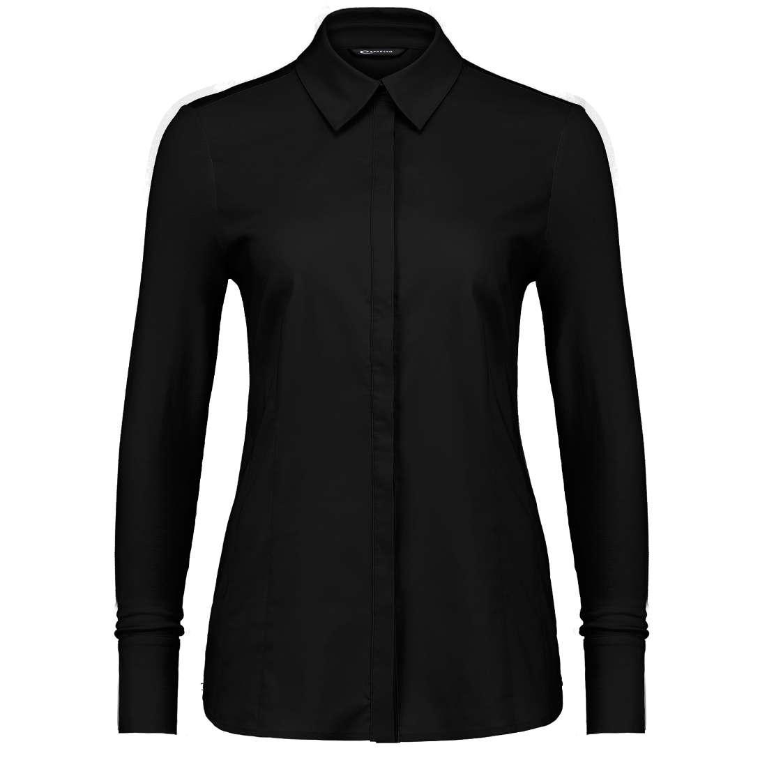 Expresso Xani blouse met jersey mouwen