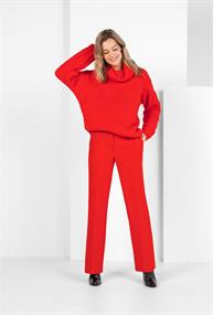 Expresso broeken 194marilou in het Rood