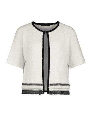 Expresso gebreid vest 201desire in het Wit.