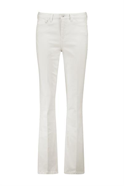 Expresso jeans Flared 202edana in het Wit
