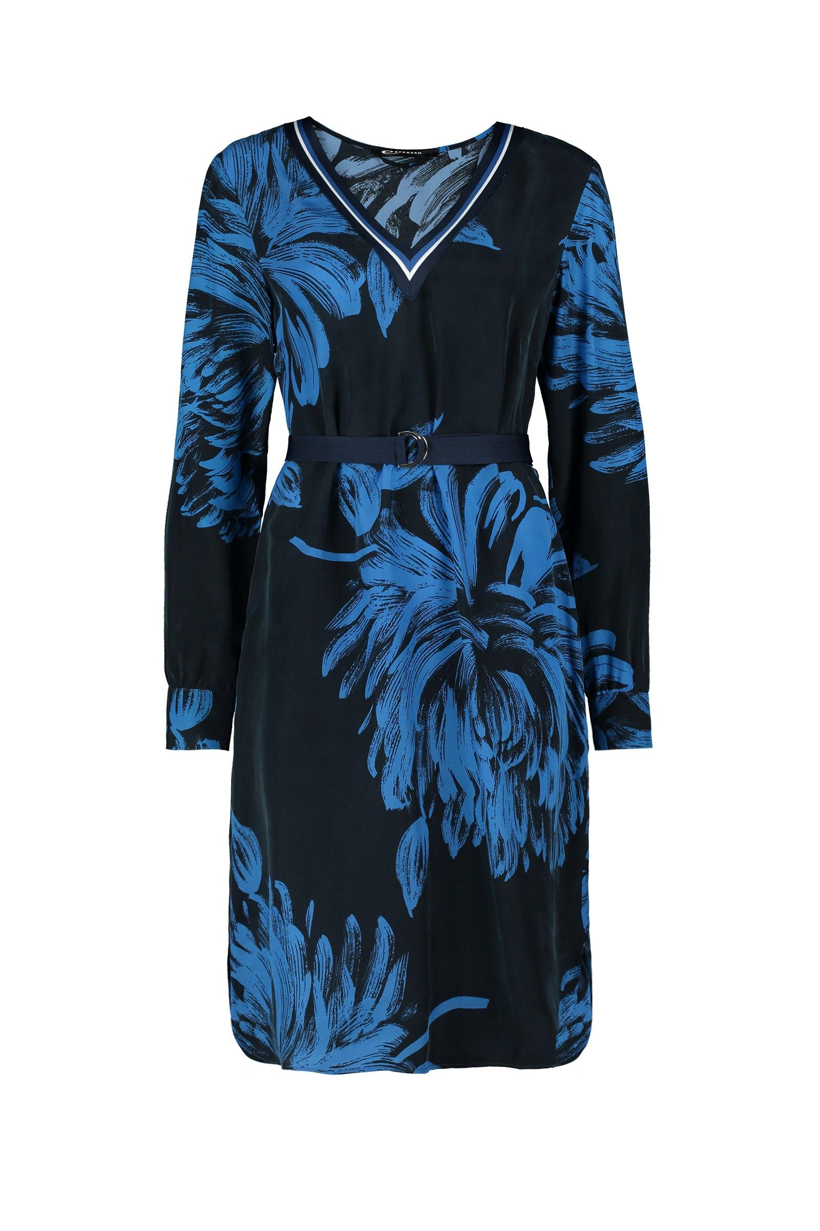Expresso jurk 201bibian in het Donker Blauw