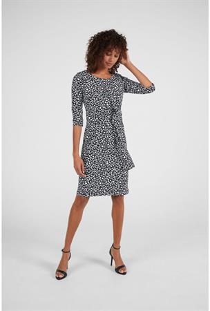 Expresso jurk 201delila in het Zwart