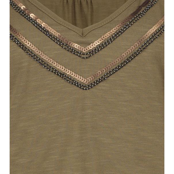 Expresso t-shirts 191britt in het Khaky